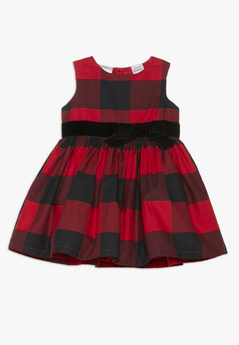Carter's - GIRL DRESSY BABY - Cocktailkjoler / festkjoler - red