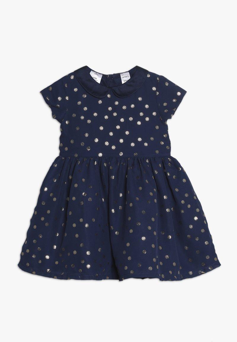 Carter's - GIRL DRESSY BABY - Koktejlové šaty/ šaty na párty - navy