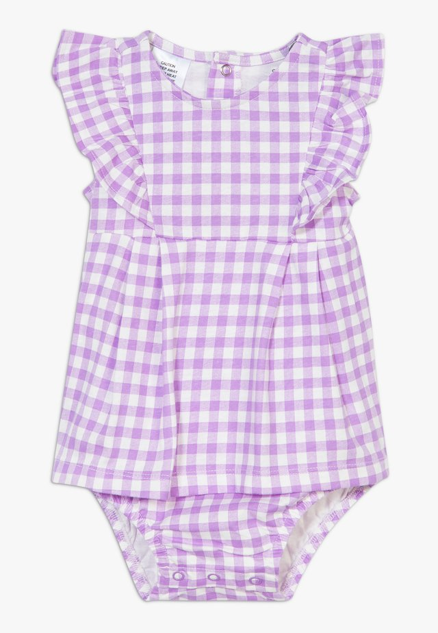 DRESS GINGHAM - Cocktailklänning - purple