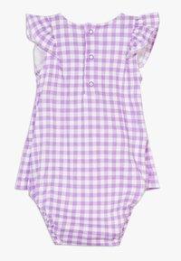 Carter's - DRESS GINGHAM - Vestido de cóctel - purple - 1