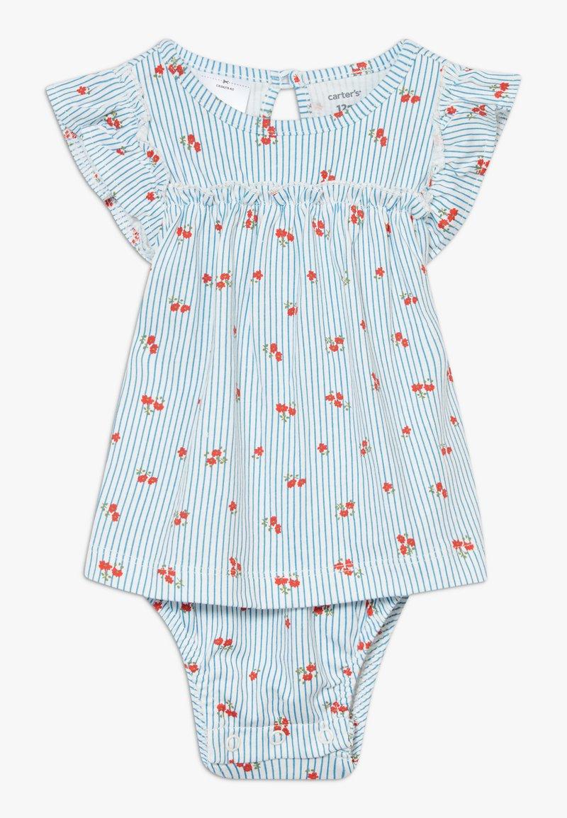 Carter's - SUN BLOSSOMS - Jersey dress - blue