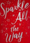 Carter's - BIG SPARKLE ALL THE WAY - T-shirt à manches longues - red