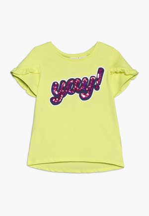 KIDS YAY - T-shirts print - yellow