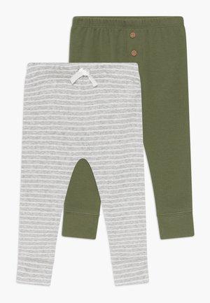 BABY 2 PACK - Pantalones - green