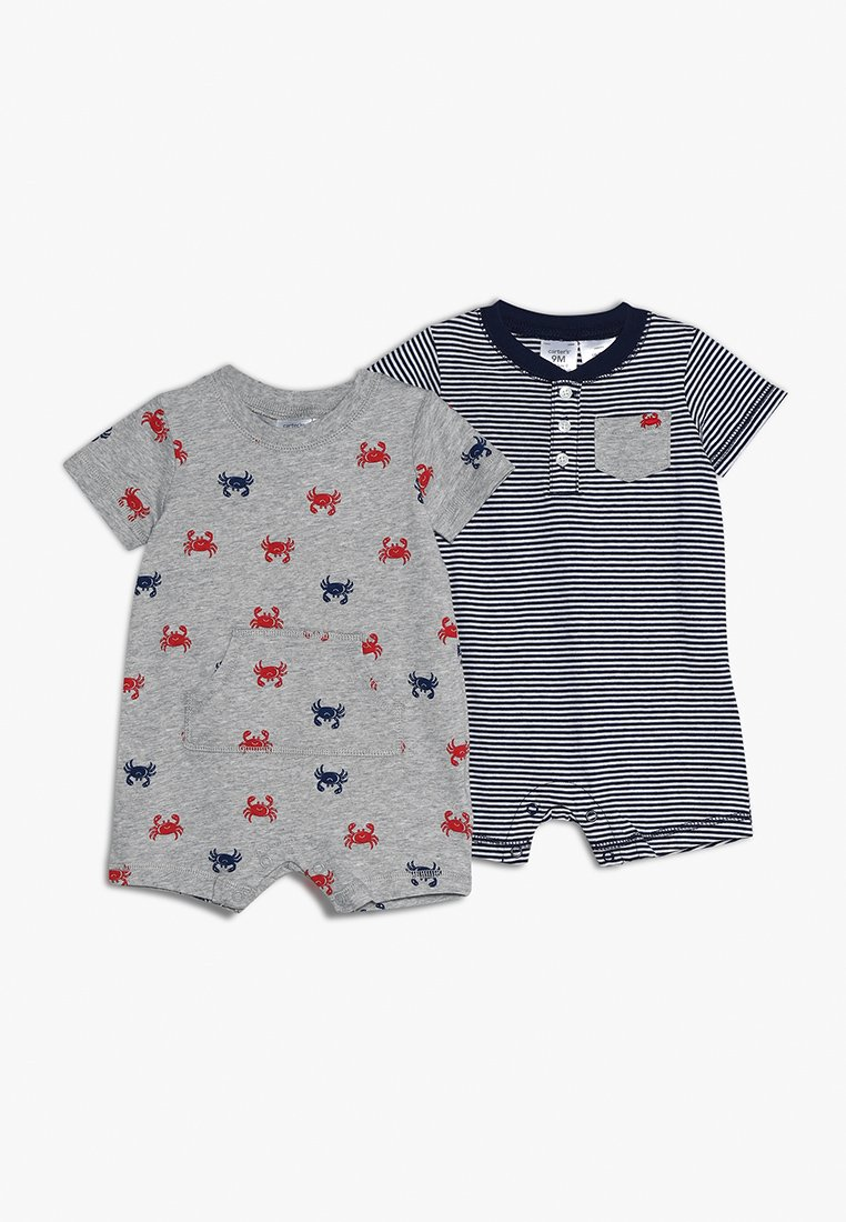 Carter's - BABY 2 PACK - Jumpsuit - grey