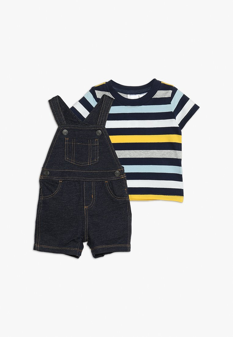 Carter's - BABY SHORTALL SET - Dungarees - denim