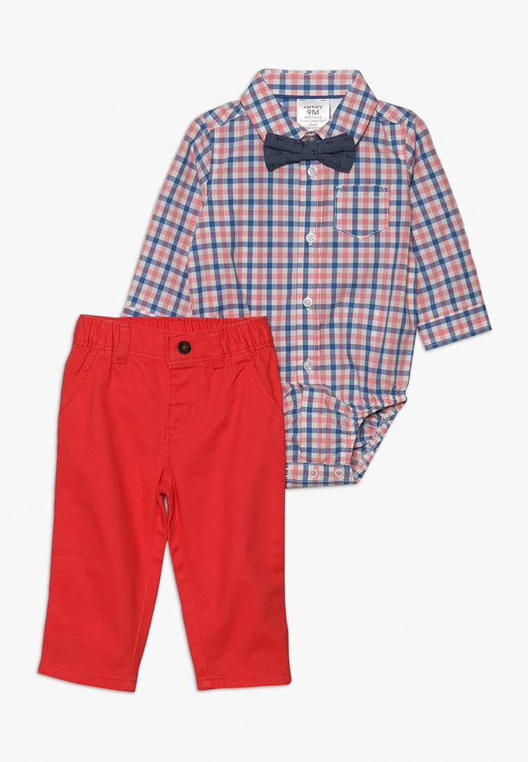 Carter's - BABY BOWTIE SET  - Straight leg jeans - coral