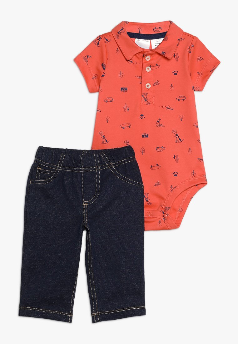 Carter's - BABY SHIFLI SET - Trousers - coral