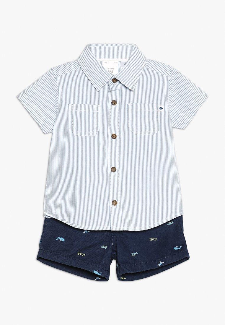 Carter's - BABY SCHIFLI SET - Shorts - blue