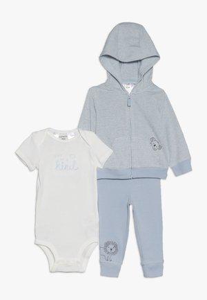 CARDI BABY SET - Neuletakki - blue