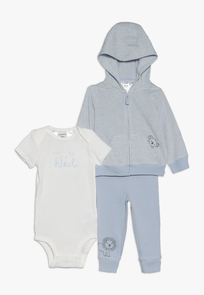 Carter's - CARDI BABY SET - Neuletakki - blue