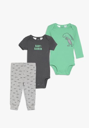 LITTLE CHARACTER BABY SET - Body - green