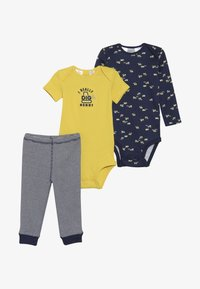 Carter's - LITTLE CHARACTER BABY SET - Legging - yellow - 6