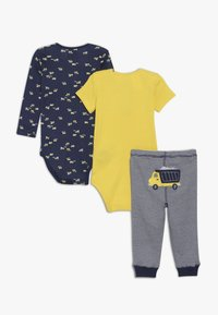 Carter's - LITTLE CHARACTER BABY SET - Legging - yellow - 1