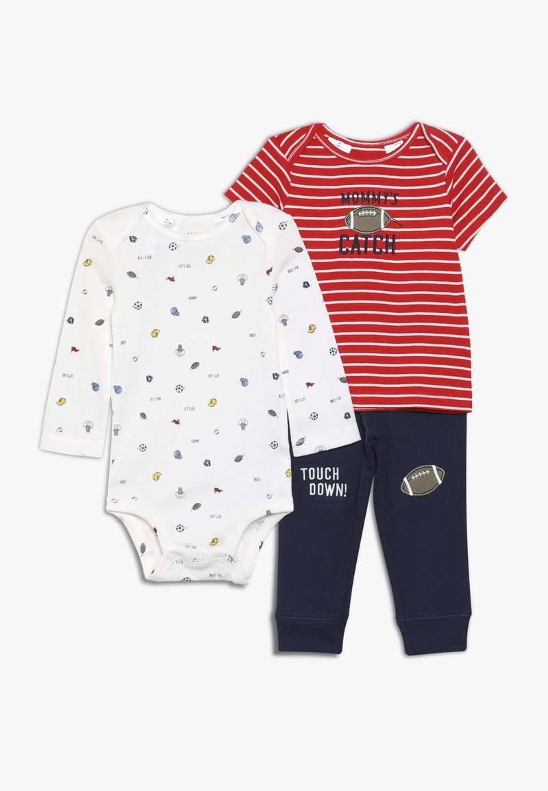 Carter's - LITTLE CHARACTER BABY SET  - Pantalones - red