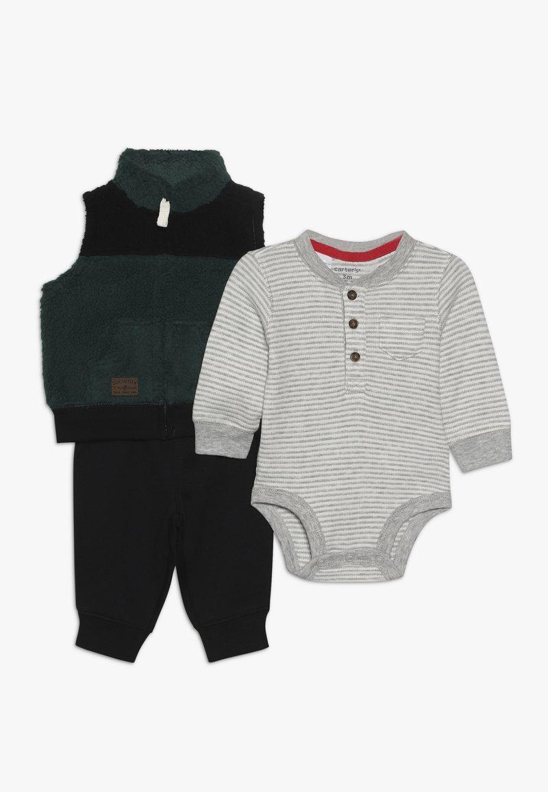 Carter's - BABY SET - Body - green