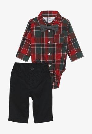 BABY SET - Kalhoty - red