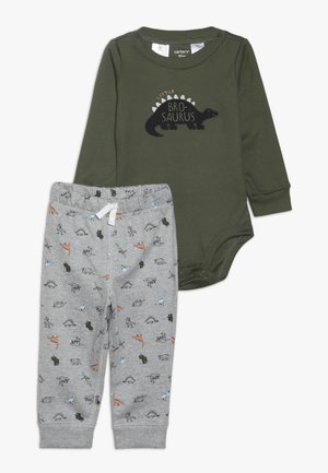 BABY SET - Pantalon de survêtement - green