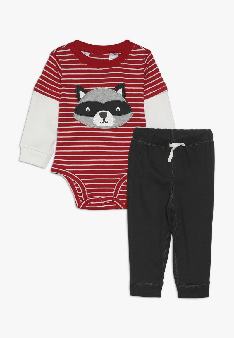 Carter's - BOY PANT BABY SET - Body - red