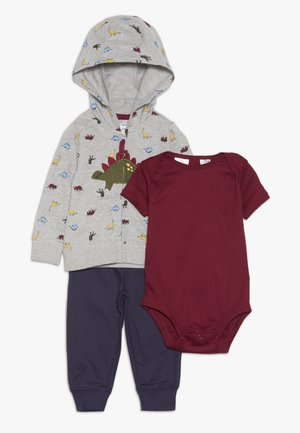 BABY SET - Body - mottled grey