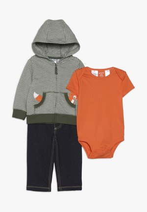CARDIGAN BABY SET  - Body - green