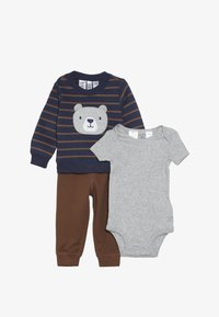 Carter's - BABY SET - Body - blue - 3