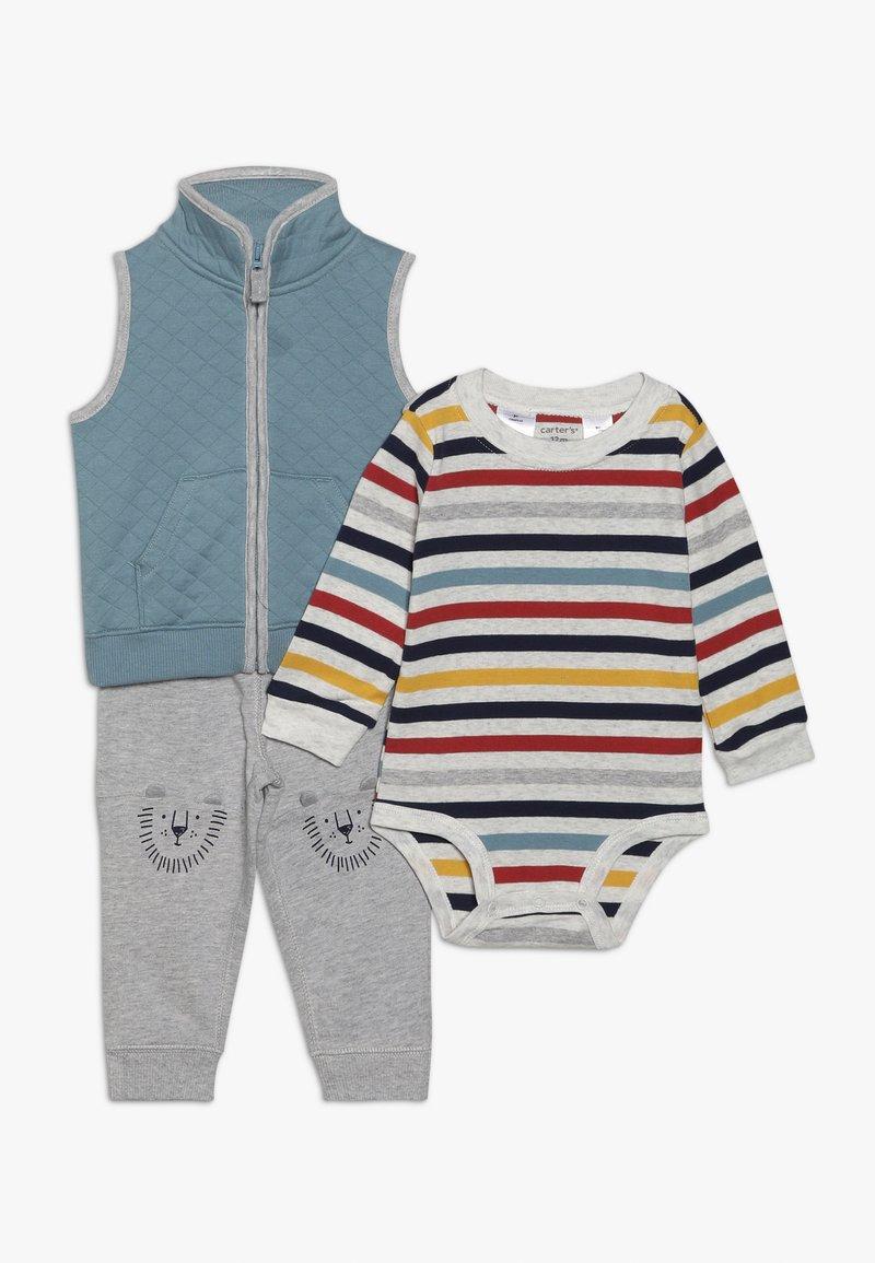 Carter's - VEST BABY SET - Regalos para bebés - blue