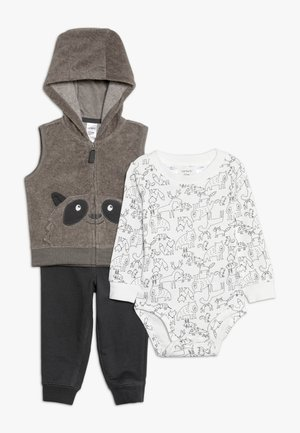 VEST SET BABY - Body - heather