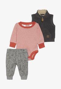 Carter's - VEST BABY SET - Smanicato - gray - 4