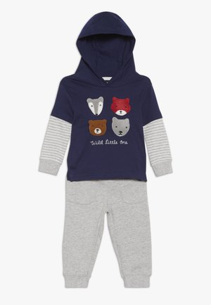 BABY SET - Stoffhose - blue