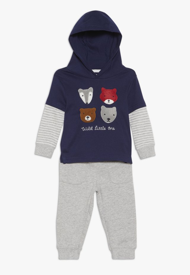 BABY SET - Trousers - blue