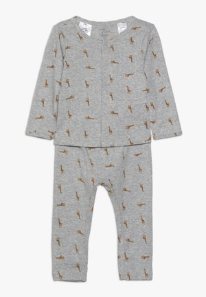 BOY BABY SET - Leggings - Trousers - teal
