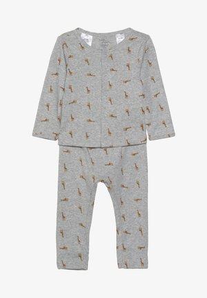 BOY BABY SET - Leggings - Trousers - teal