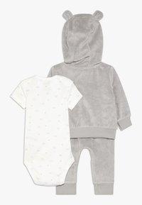 Carter's - TERRY BABY SET - Body - gray - 1