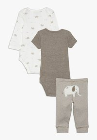 Carter's - ELLIE BABY SET - Broek - brown - 1