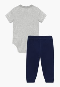 Carter's - DINO SET - Kalhoty - grey/dark blue - 1