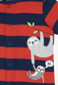 Carter's - CREEPER SLOTH SIDE - Jumpsuit - red - 3