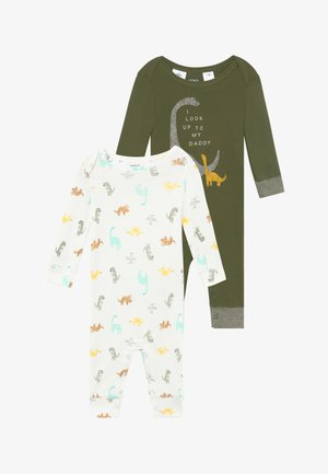 DINO BABY 2 PACK - Jumpsuit - Green
