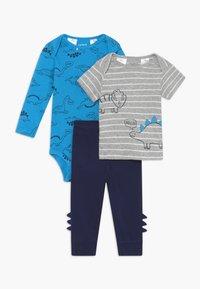 Carter's - DINO SET - Trousers - blue/dark blue - 0