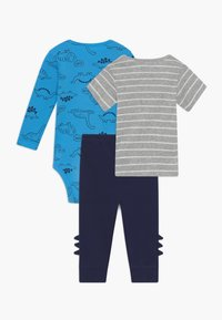 Carter's - DINO SET - Trousers - blue/dark blue - 1