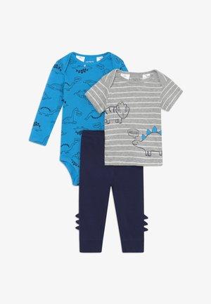 DINO SET - Stoffhose - blue/dark blue