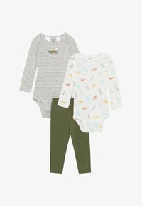 Carter's - DINO BABY 2 PACK SET - Pantalones - multi-coloured