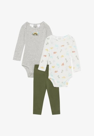 DINO BABY 2 PACK SET - Trousers - multi-coloured
