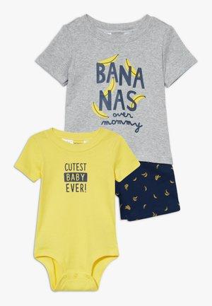 BANANAS SET - Body - yellow