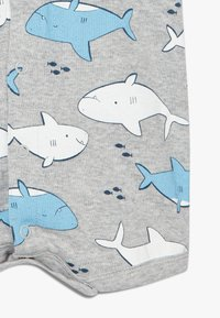 Carter's - CREEPER WHALES - Overal - mottled grey/blue - 4