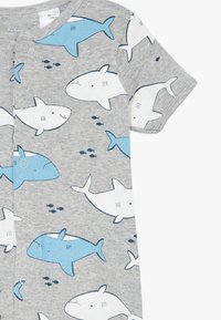 Carter's - CREEPER WHALES - Overal - mottled grey/blue - 2