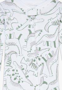 Carter's - ZGREEN BABY - Jumpsuit - white/khaki - 3