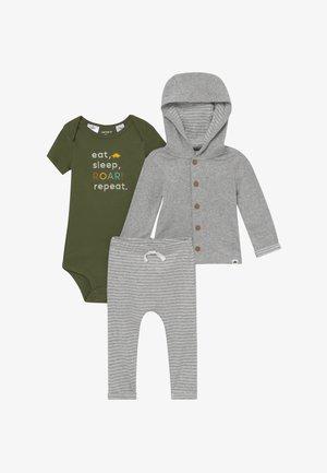 BABY SET - Kardigan - mottled grey