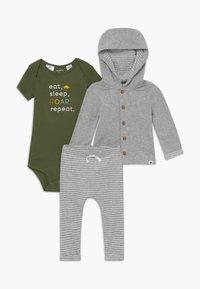 Carter's - BABY SET - Strikjakke /Cardigans - mottled grey - 0