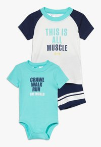 Carter's - ALL MUSCLE SET - Body - navy - 0